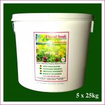 Floral Soak Bulk Tub